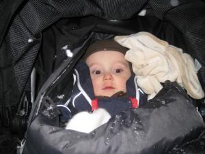Lille jonas Tainio-Uldal yngste deltaker 7 måneder