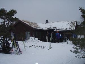 Trottohytta vinterstid. Foto: Anita Breivold