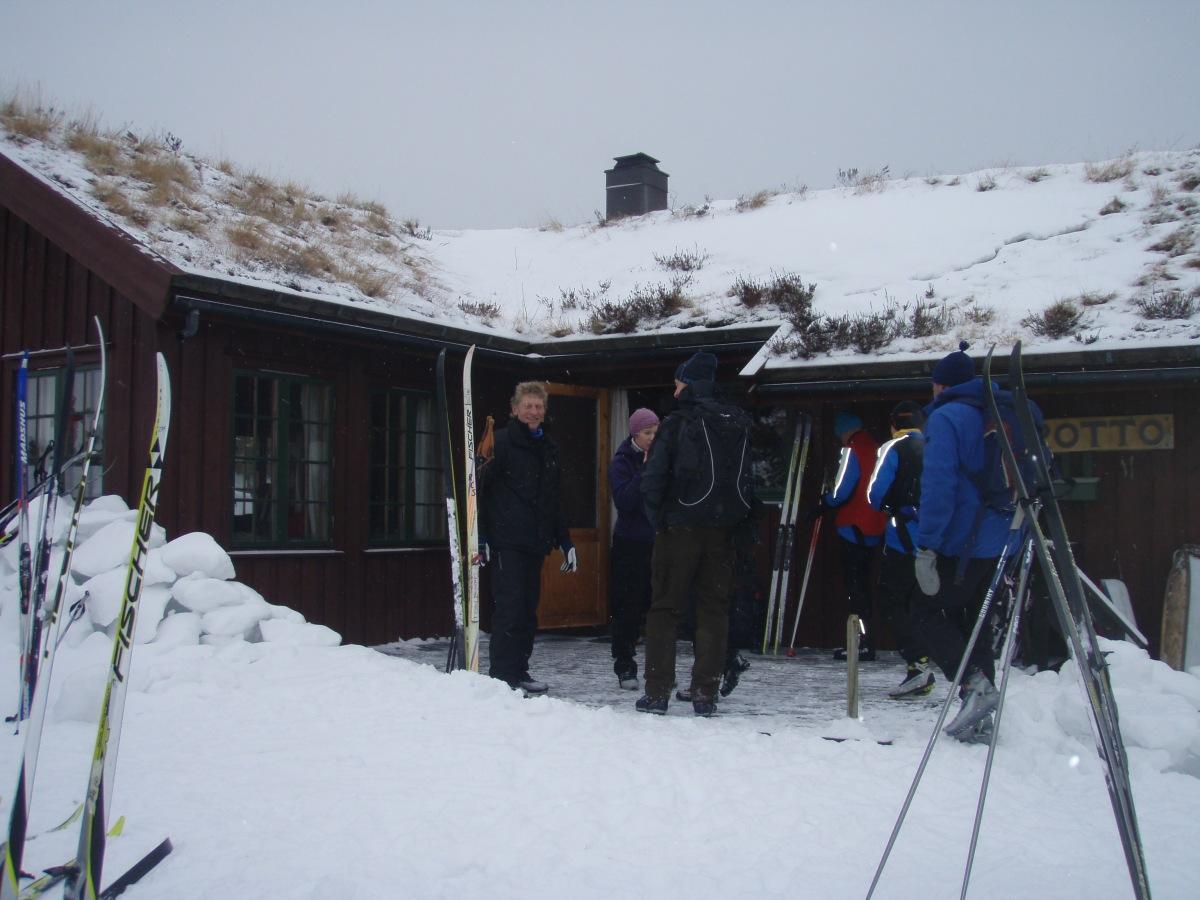 Ingen skiføre - ingen åpen Trottohytte