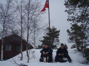 Trotto i vinterdrakt.  Foto: Anita