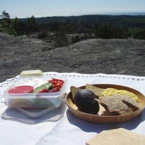 Frokost på Badstufjellet