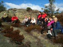En fornøyd gjeng på Ørnehei 13.okt 2013. Foto: Anita Breivold