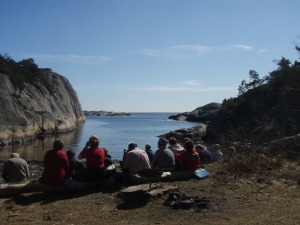 Tur på Justøya