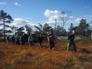 Herlig høsttur til Trottohytta. Foto: Anita Breivold
