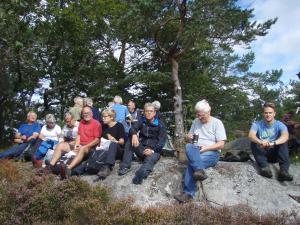 Justøya, på innsida. Foto: Anita